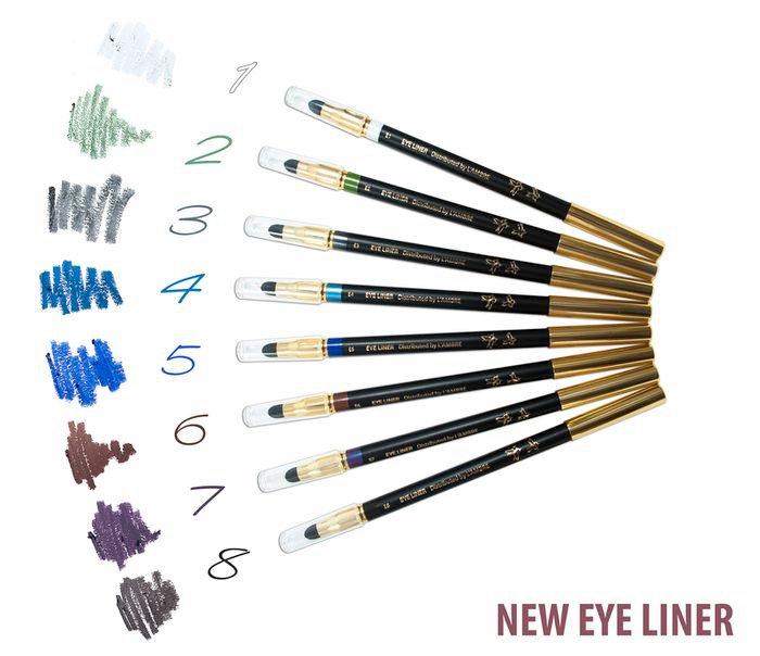 Konturovací tužka na oči s houbičkou